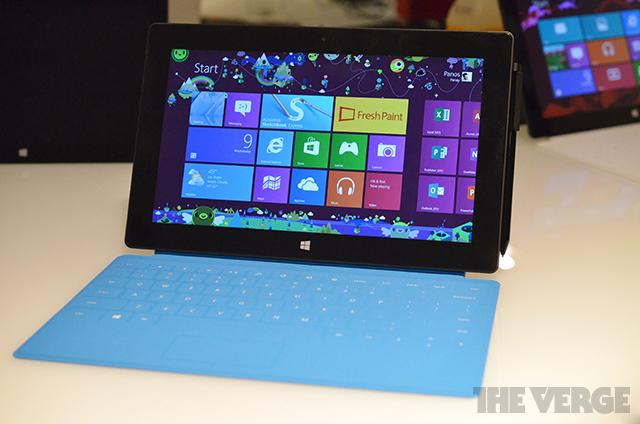 Microsoft Surface Pro Tablet mit Intel-CPU & Windows 8: Erste Preview, Eindrücke & Fotos veröffentlicht