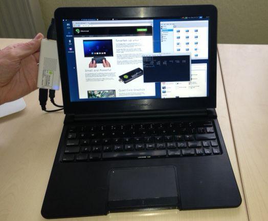 Günstiges Linux Notebook dank Rikomagic MK802 IIIS und Motorola Lapdock