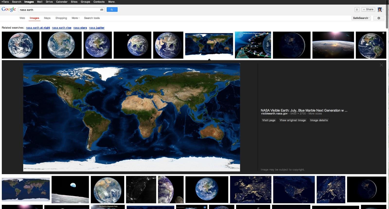 Google Bildersuche erhält neues Design und wird schneller