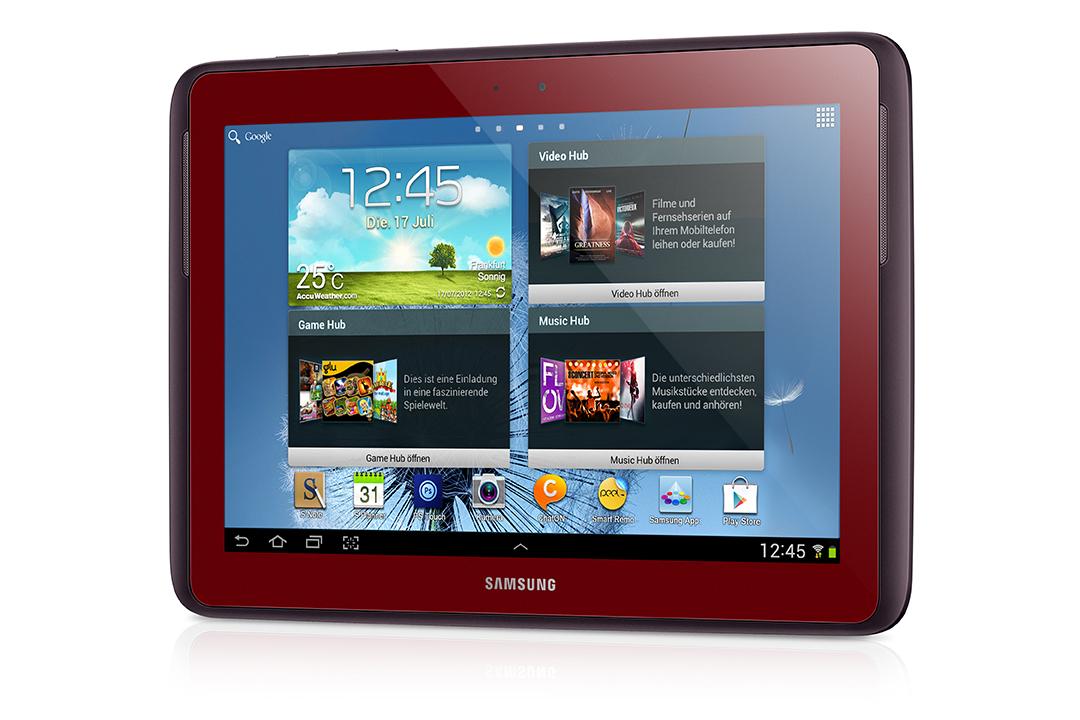 Samsung bringt Galaxy Tab 2 7.0 & 10.1 und Galaxy Note 10.1 jetzt auch in Rot