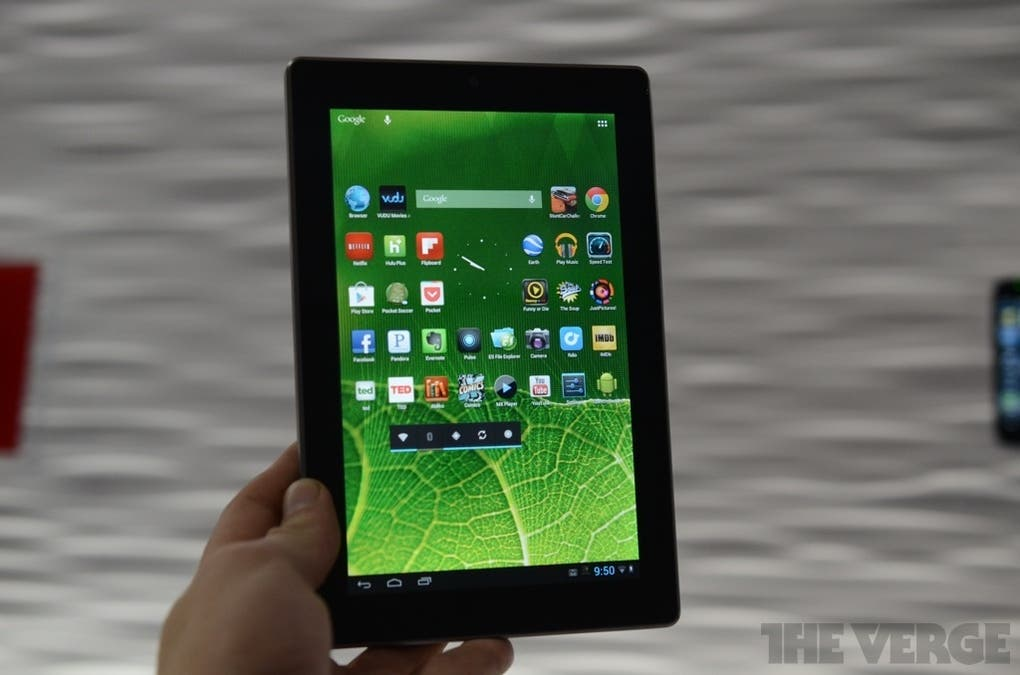 CES 2013: Vizio 7inch Tablet mit Tegra 3 Quad Core & Standard-Android vorgestellt