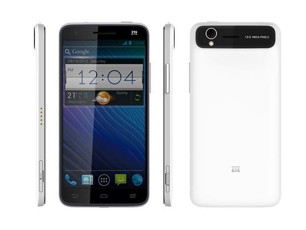 CES 2013: ZTE Grand S 5inch Smartphone mit Quad-Core & 13MP-Cam in 6,9mm-Gehäuse