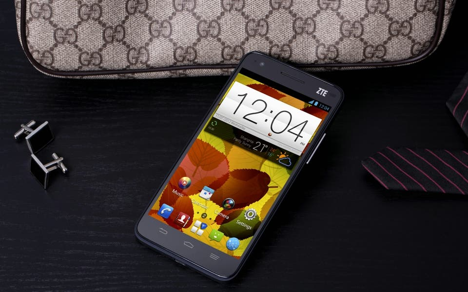 CES 2013: ZTE Grand S im Hands-on