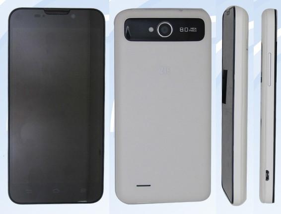 ZTE V987 Smartphone mit 5 Zoll 720p-Display, Quad-Core & Dual SIM aufgetaucht