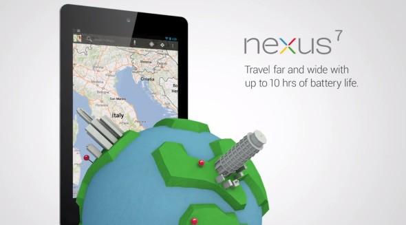 Google Nexus 7: Neuer Werbe-Clip und Android 4.2 Changelog