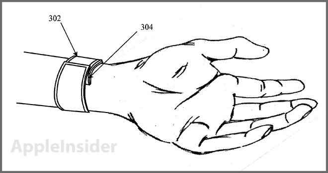 """Apple Patentantrag zeigt ein mögliches """"iWatch""""-Konzept"""