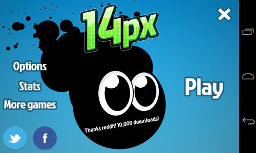 14px – kostenloses Jump'n'Run für Android im Test