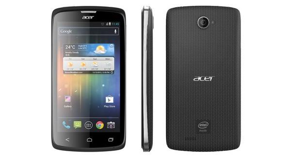 Acer Liquid C1 mit Intel Atom Z2420 vorgestellt