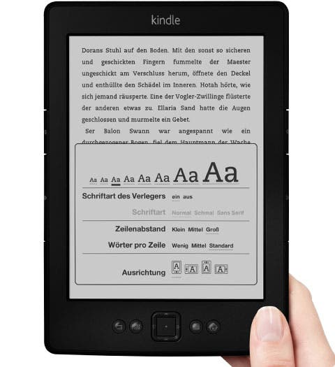 Amazon Kindle nur heute für 59 Euro statt 79 Euro