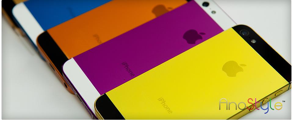 AnoStyle: neue Farben für euer Apple iPhone 5 oder iPad mini
