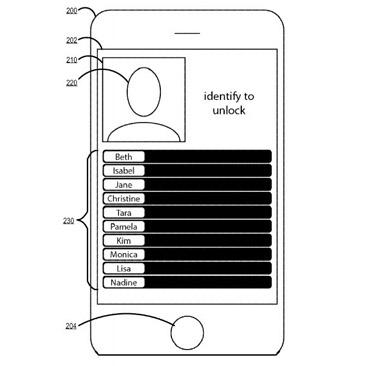 Apple Patent für Screen Unlock über Bilder