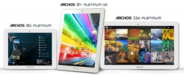 Archos erweitert Platinum Tablet Reihe um das Archos 116 Platinum