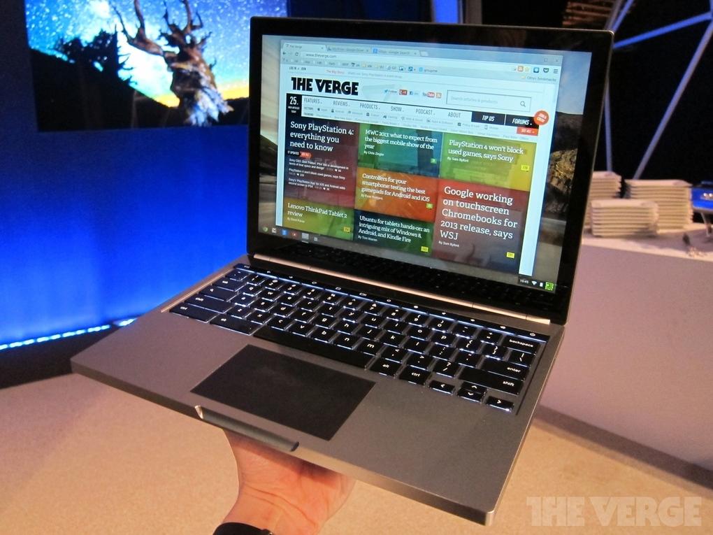 Google stellt Chromebook Pixel vor: 2560 x 1700 Pixel und ab 1.299 Dollar