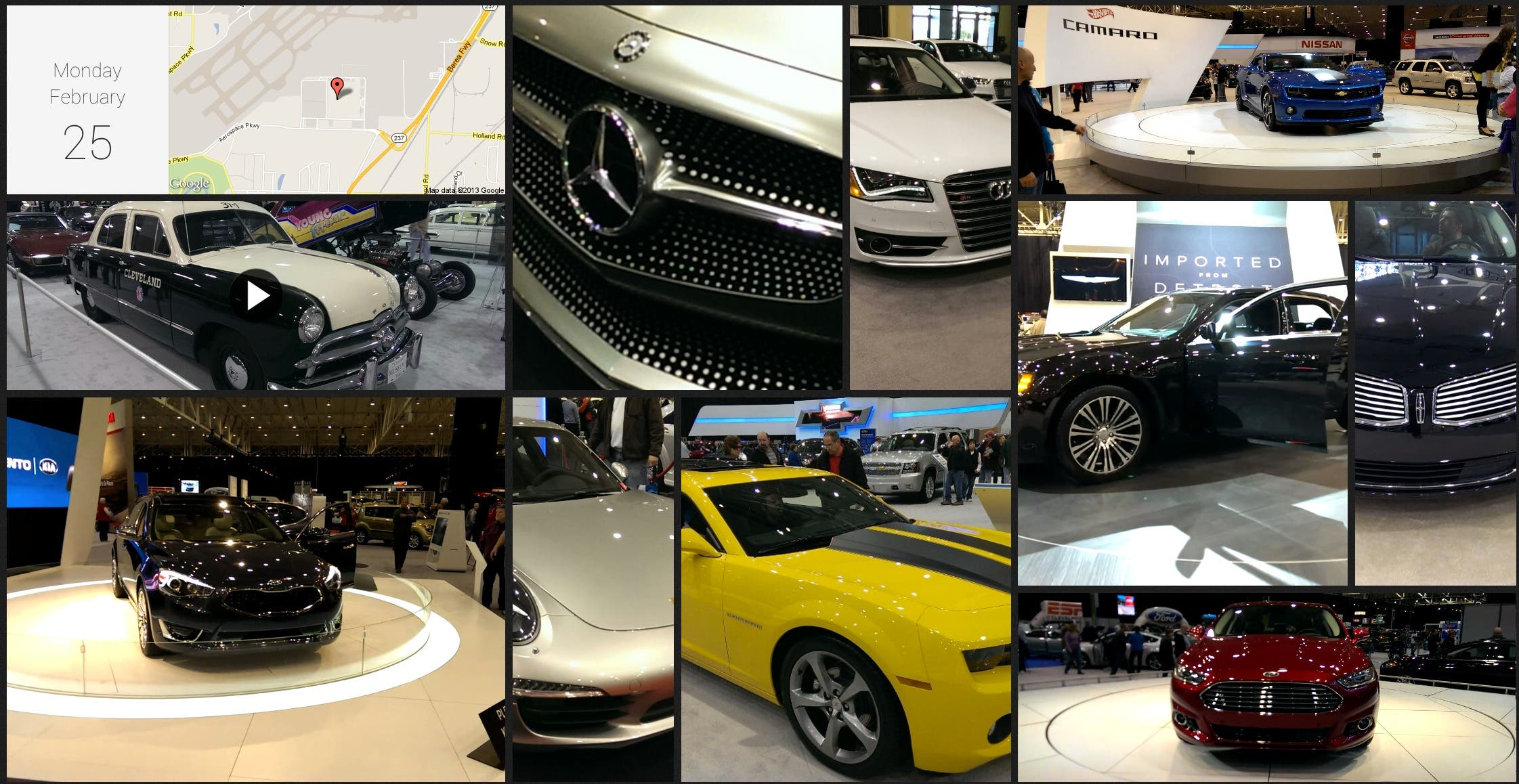 Cleveland Auto Show Zoe HTC One Photo Video Sample HTC One: Zoe Share   Seite zur Foto App geht live