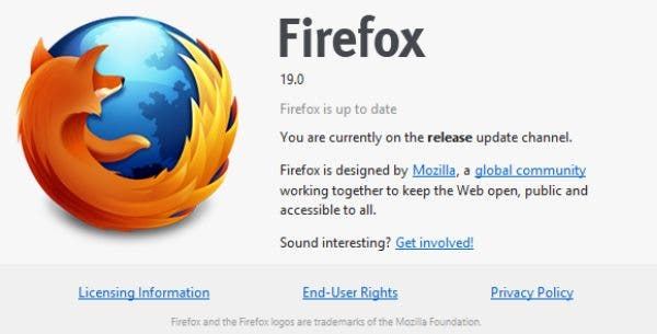 Firefox 19 Download – Integrierter PDF Viewer!