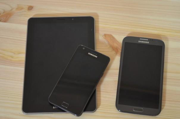 Galaxy Note 2 S2 Tab 7.7