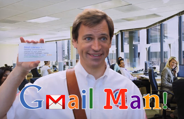 Gmail Man: Microsoft teilt gegen Google aus