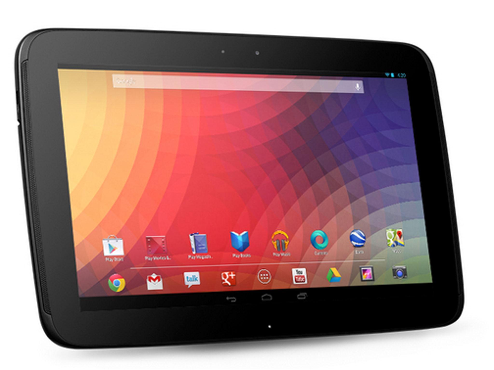 Google Nexus 10 wieder im Play Store verfuegbar