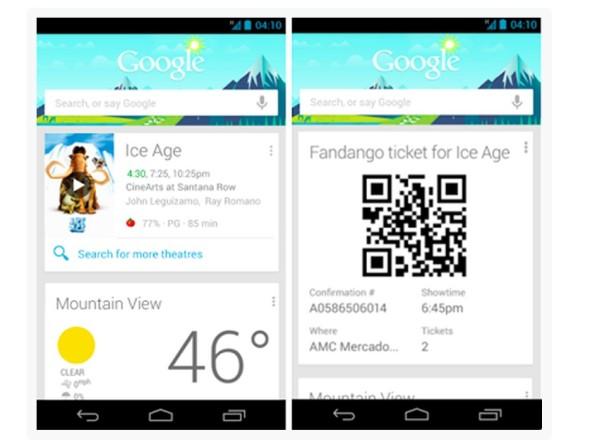Google Now Update: Neue Funktionen und Widget