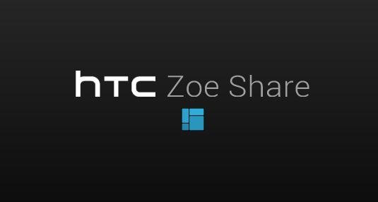 HTC One: Zoe Share – Seite zur Foto App geht live