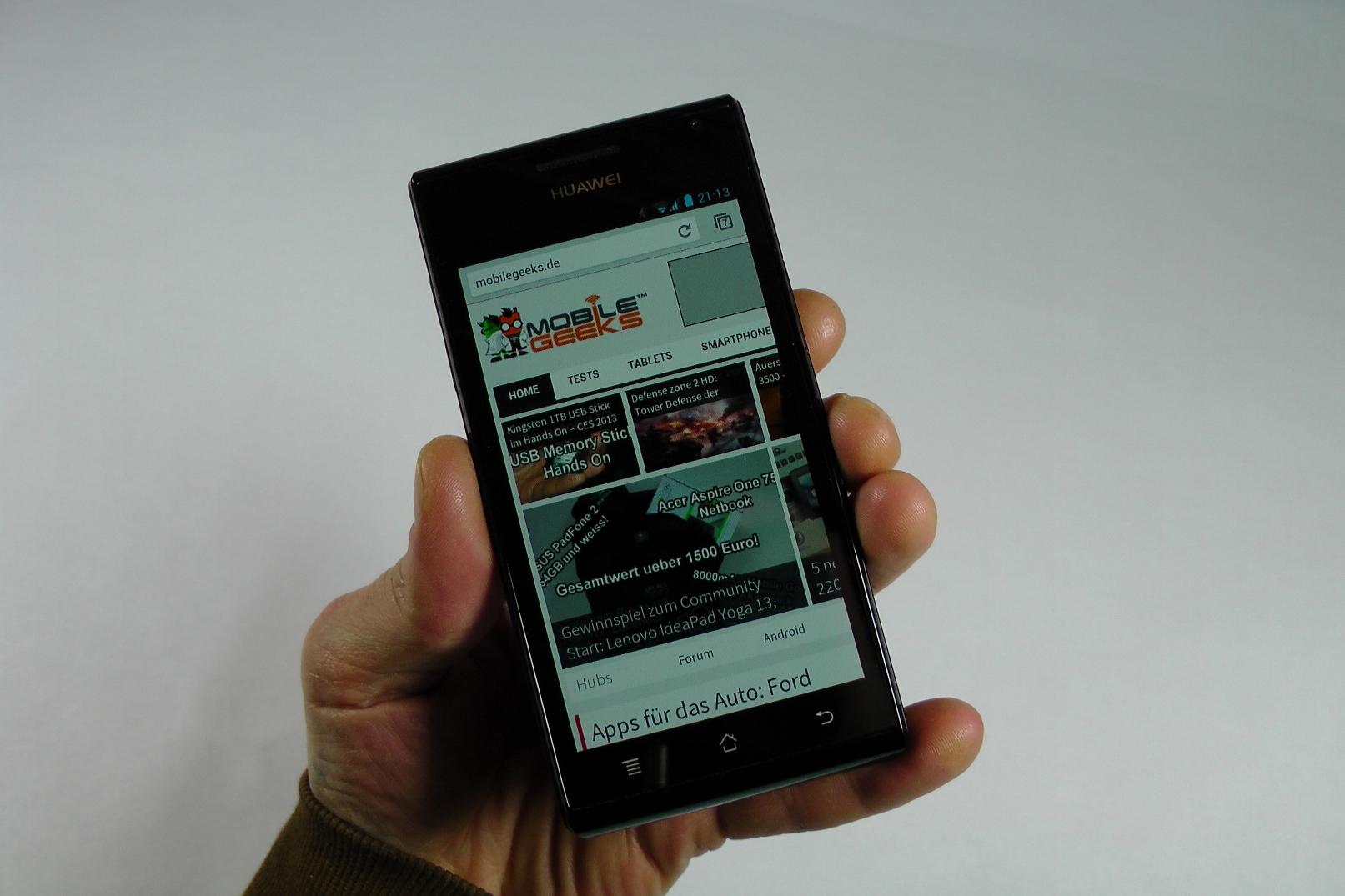 Huawei Ascend P1 im ausführlichen Testbericht
