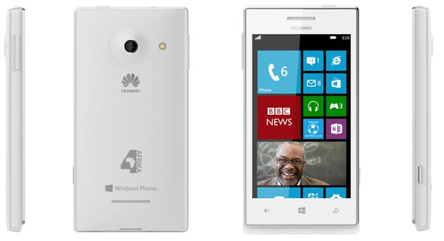 4Afrika: Microsoft und Huawei präsentieren W1 Windows Phone 8 Smartphone für Afrika