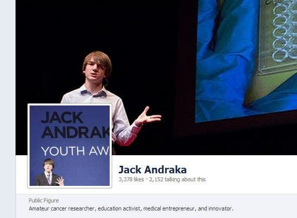 15-Jähriger revolutioniert die Krebsforschung