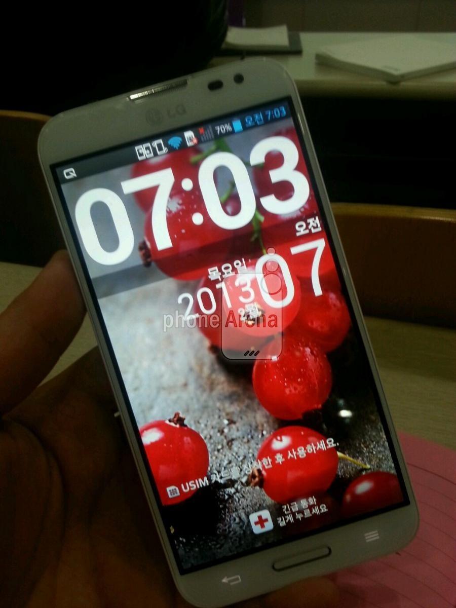 Größeres LG Optimus G Pro mit 5,5inch Display im Anmarsch? *Update: bestätigt!*
