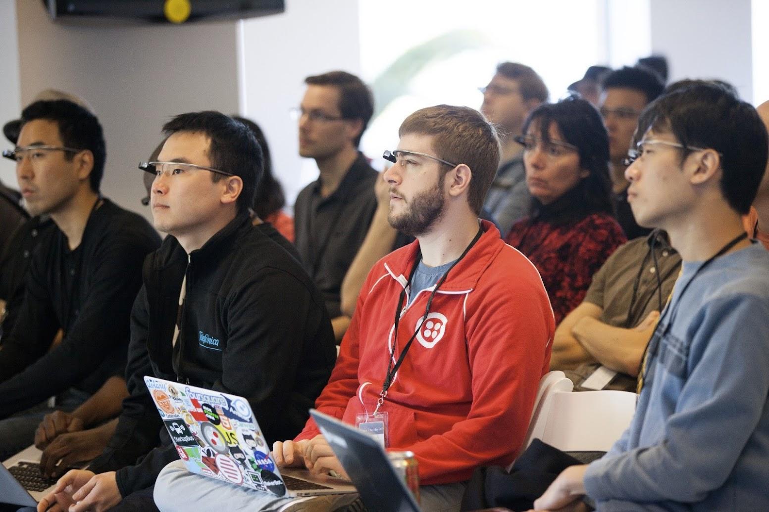Google Glass Hackathon: Ne Brille, Geeks und die Zukunft