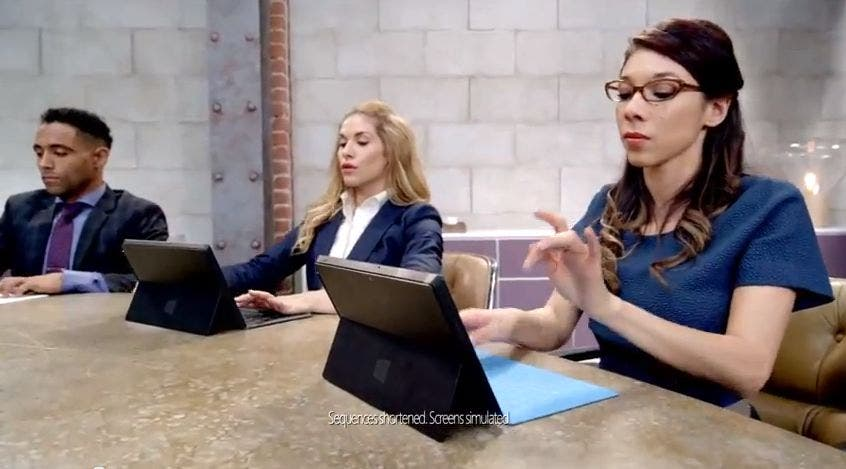 Microsoft: Neuer Werbespot für das Surface Pro