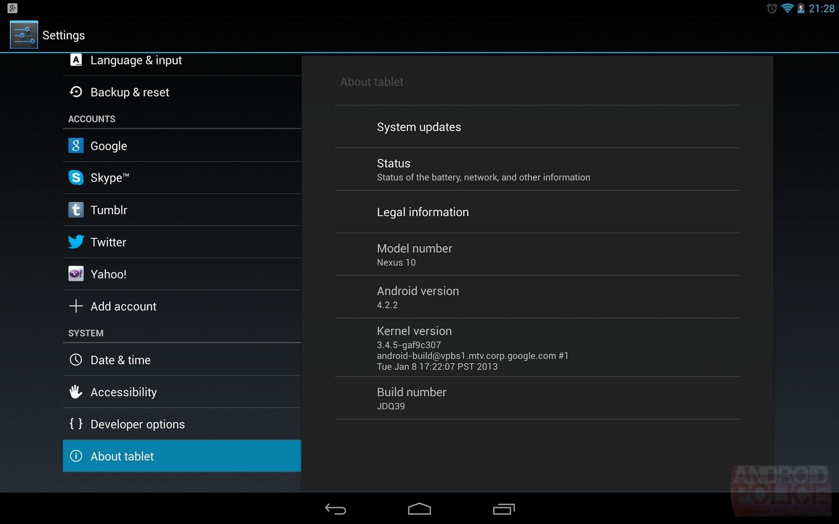 Android 4.2.2 wird ausgerollt für Google Nexus 7, Nexus 10 und Galaxy Nexus