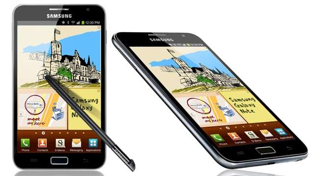 Samsung Galaxy Note: Update auf Android 4.1.2 in Deutschland