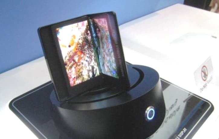 Samsung Galaxy Q (GT-B9150) mit faltbaren Dual AMOLED HD Screen bereits zum MWC?