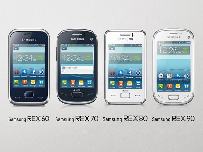 Samsung REX-Serie soll Nokia Asha Touch-Handys angreifen