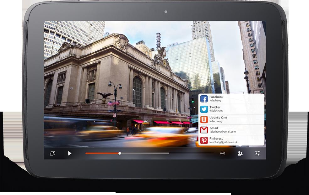 Ubuntu fuer Tablets kommt zum MWC naechste Woche