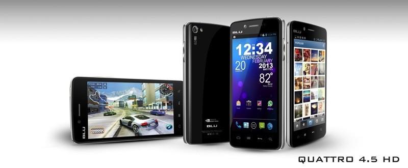 BLU bringt 4,5 & 5,7inch Smartphones mit Nvidia Tegra 3 Quad Core zu günstigen Preisen