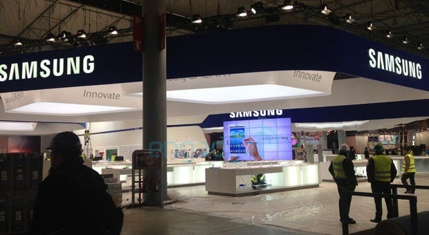 galaxy note 8 messestand 02 MWC 2013: Samsung Galaxy Note 8.0 gesichtet *Update: neue Fotos*