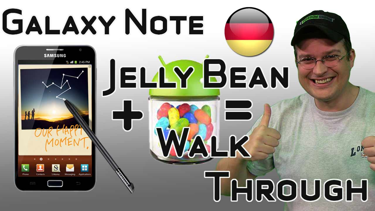 Samsung Galaxy Note mit Original Jelly Bean Update im Test