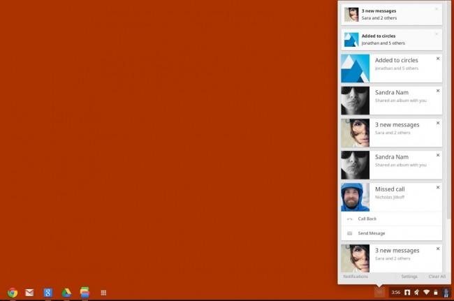 Google Chrome OS: kommt das einheitliche Messaging Center?