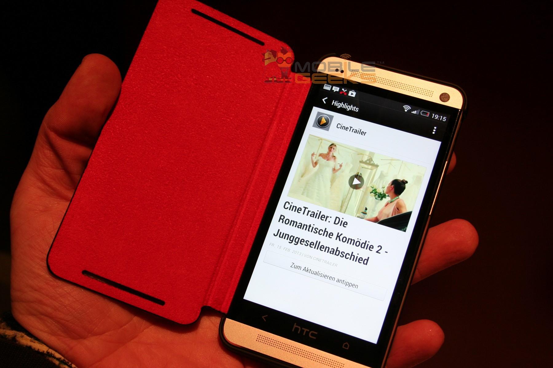 HTC One Zubehör in Bildern