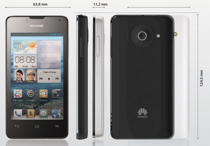 MWC: Huawei Ascend Y300 Smartphone mit 4inch-Display & Dual-Core-CPU kommt für 149 Euro