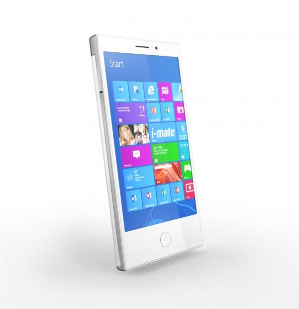 i mate intelegent 1 MWC: I Mate Intelegent Smartphone soll volles Windows 8 & Intel Tablet CPU haben