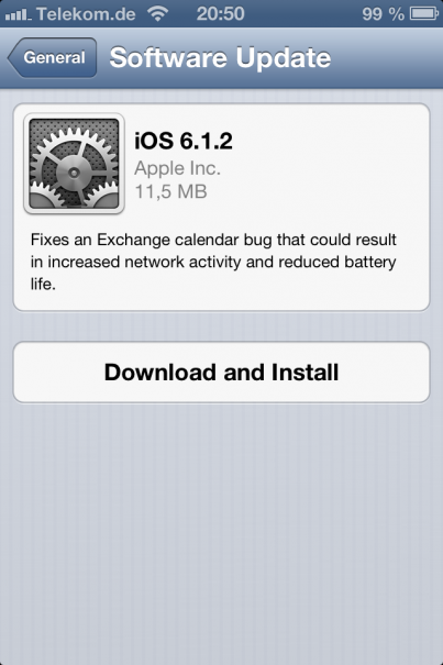 iOS 6-1-2 iPhone