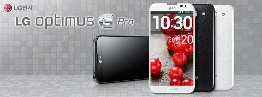 LG Optimus G Pro mit 5,5inch Full HD Display, Quad-Core, 13-MP-Cam & LTE offiziell enthüllt *UPDATE: Weitere Bilder*