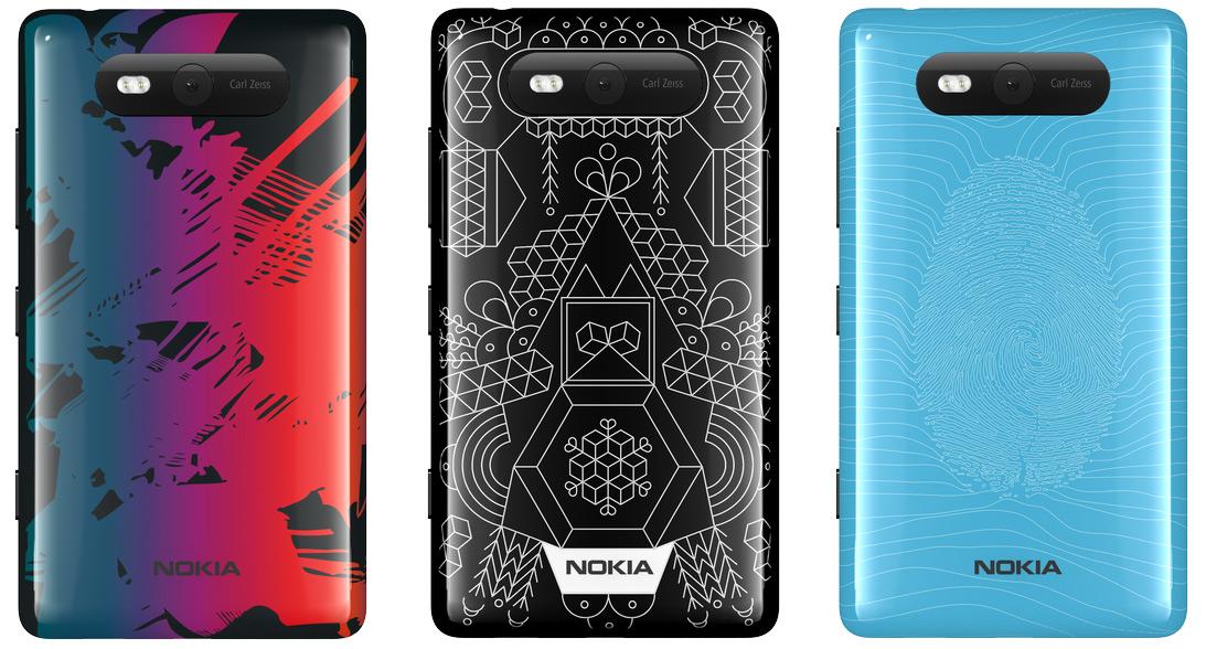 nokia design challenge 2 Nokia Lumia 820   Limitierte Design Shells von Wettbewerbsgewinnern