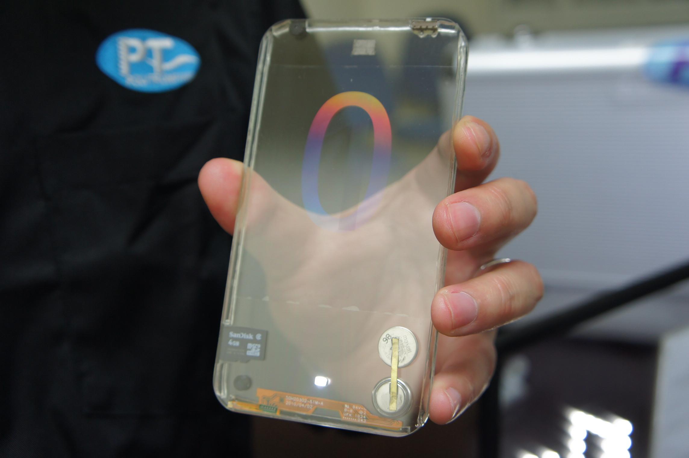 Transparente Smartphones aus Glas noch in diesem Jahr – Hands-on mit Prototyp