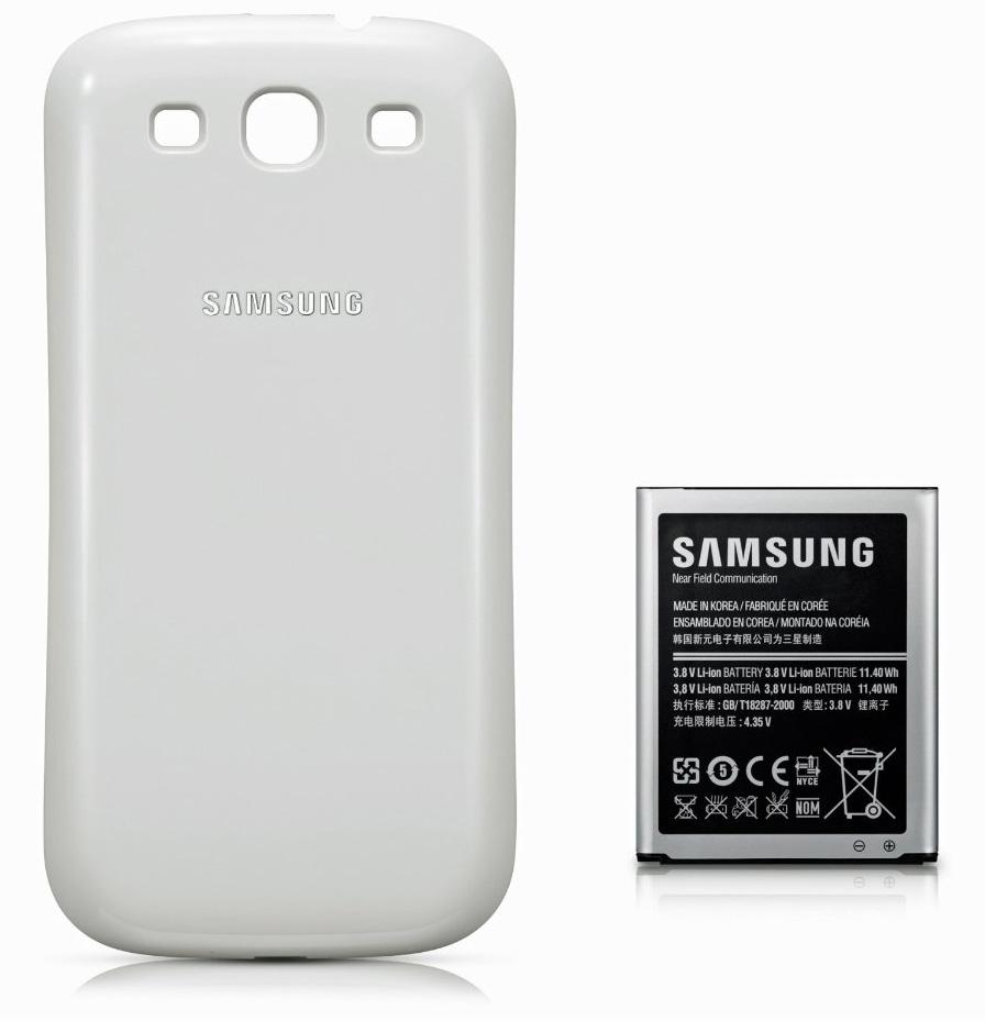 Samsung Galaxy S3 Original-Zubehör Akku mit 3000mAh ab Ende Februar verfügbar
