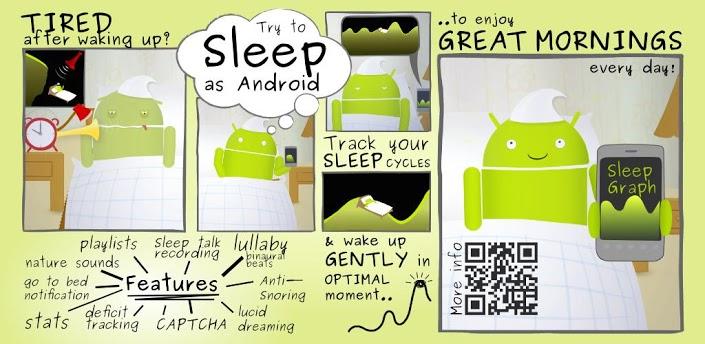 Besser schlafen mit Sleep as Android