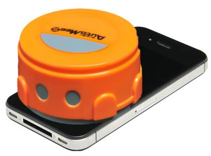 Mini-Reinigungsroboter schrubbt Displays von Smartphones & Tablets automatisch