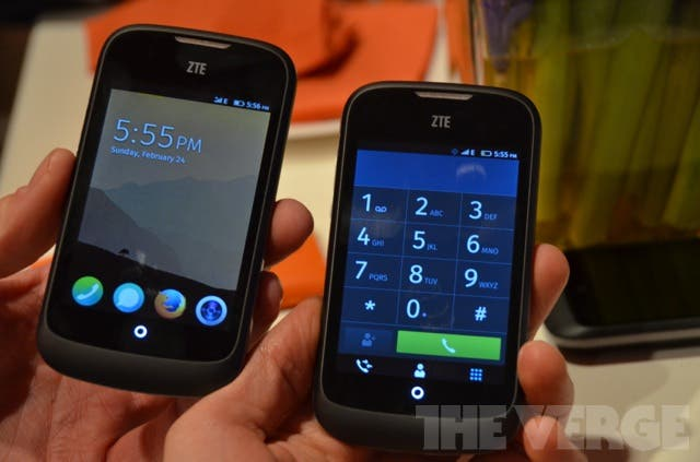 MWC: Mozilla Firefox OS auf dem ZTE Fire Smartphone im Walk-Through-Video